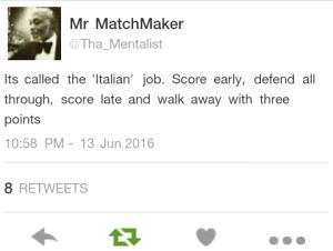 The Italian Wall.