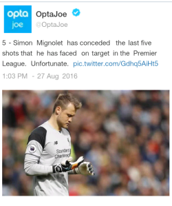 Ouch! Dear Klopp, I'm sure you've seen this right?