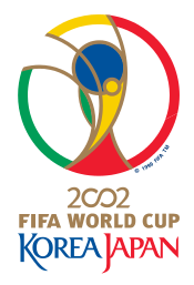 Back in the days: The official logo of the Korea/Japan 2002 World cup. (Photo credit: FIFA