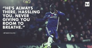 Diamond in the Rough: N'golo Kante was one of the revelations of the year. (Image credit: Bleacher)