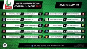 Kicking off shortly: The 2016 NPFL season starts soonest