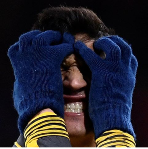 Arrrggghhhhhh: Alexis Sanchez is seen expreesing his frustration during Arsenal's 3-3 draw against Bournemouth