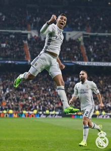 Jubilant: In case you missed Casemiro's cracker, look it up and watch it. Thank me later ;)