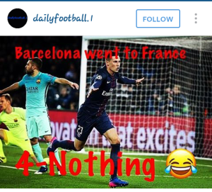 Barcelona went visiting... 4 nothing!